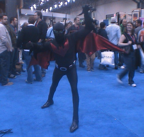 Batman Beyond by Dragonrider1227