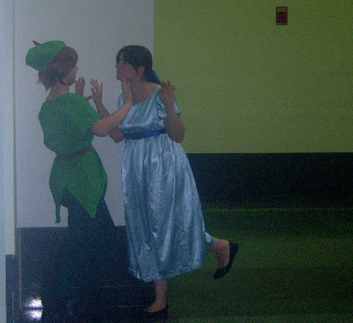 Peter Pan and Wendy by Dragonrider1227 on DeviantArt