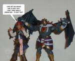 Jack Sparrow vs Mumm-Ra