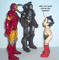 Astro Boy meets Iron Man by Dragonrider1227
