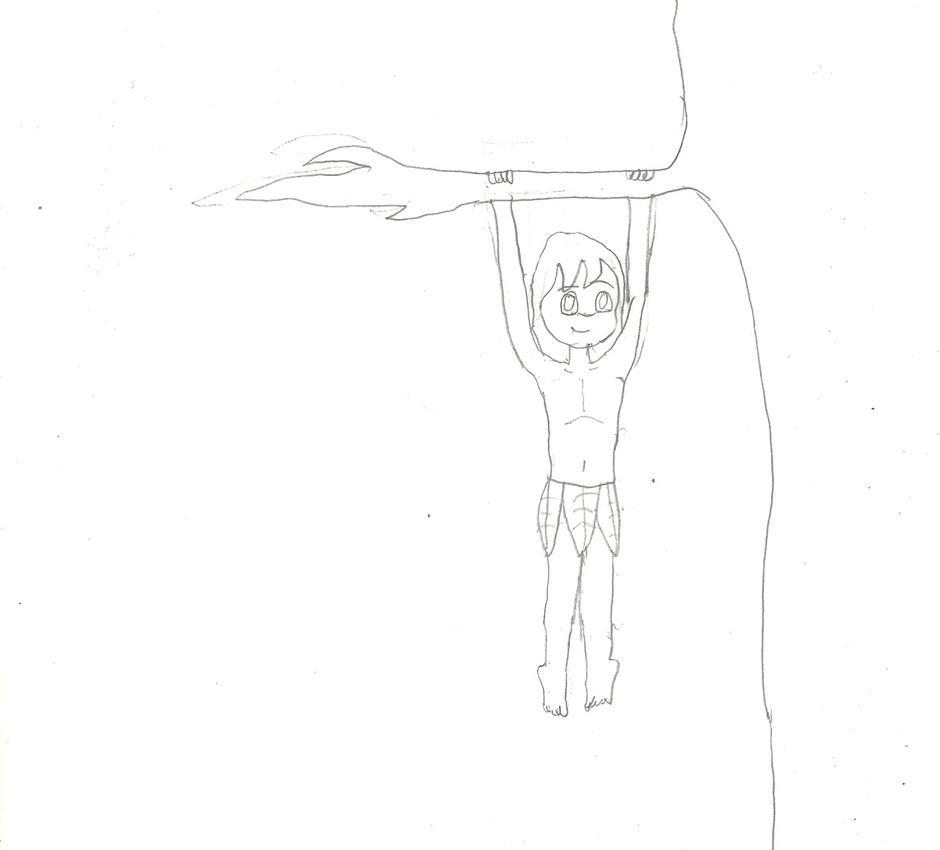 Aliki hanging by Dragonrider1227