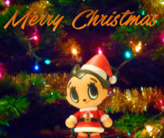 Merry Christmas from Astro Boy by Dragonrider1227