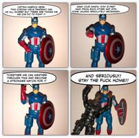A PSA from Captain America