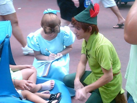 Peter Pan by Dragonrider1227