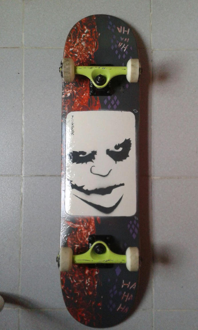 Skate Joker by cuernonegro