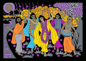 Shri Chaitanya Mahaprabhu Sankirtan Movement by Mohinipriya