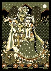 Krishna Radha Mahabharata On The Veda Deviantart