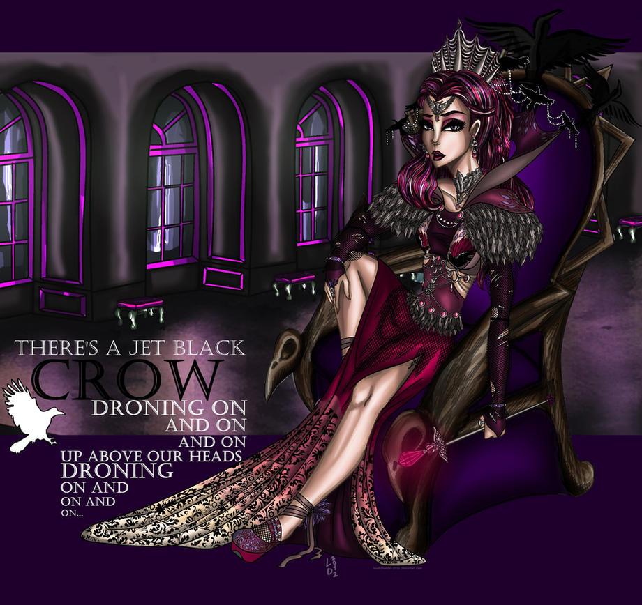 EAH: Raven Queen AU by loud-thunder-2012