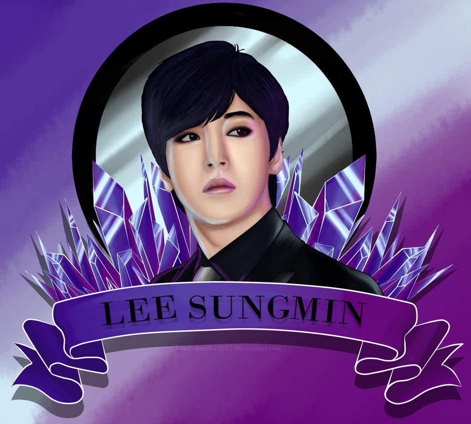 SuJu: Lee Sungmin by loud-thunder-2012