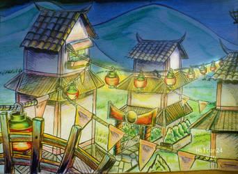 Ninjago Art Concept: 1 by halcon24
