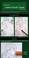 Colored pencil tutorial - Basic