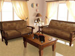 Vectorized Livingroom