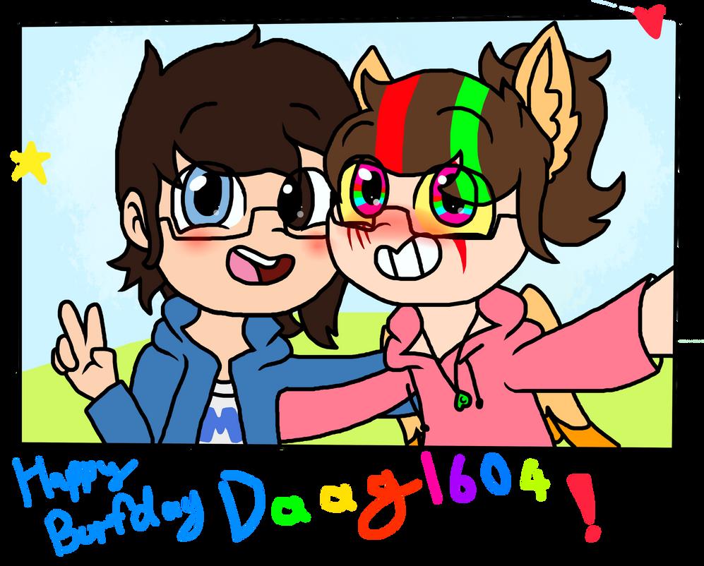 Happy Birthday DaaG1604! by dashthespeedgamer