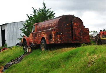 Fuel Truck still in use by ArielOlivia