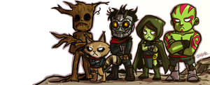 Guardian of the galaxy by ChickenzPunk