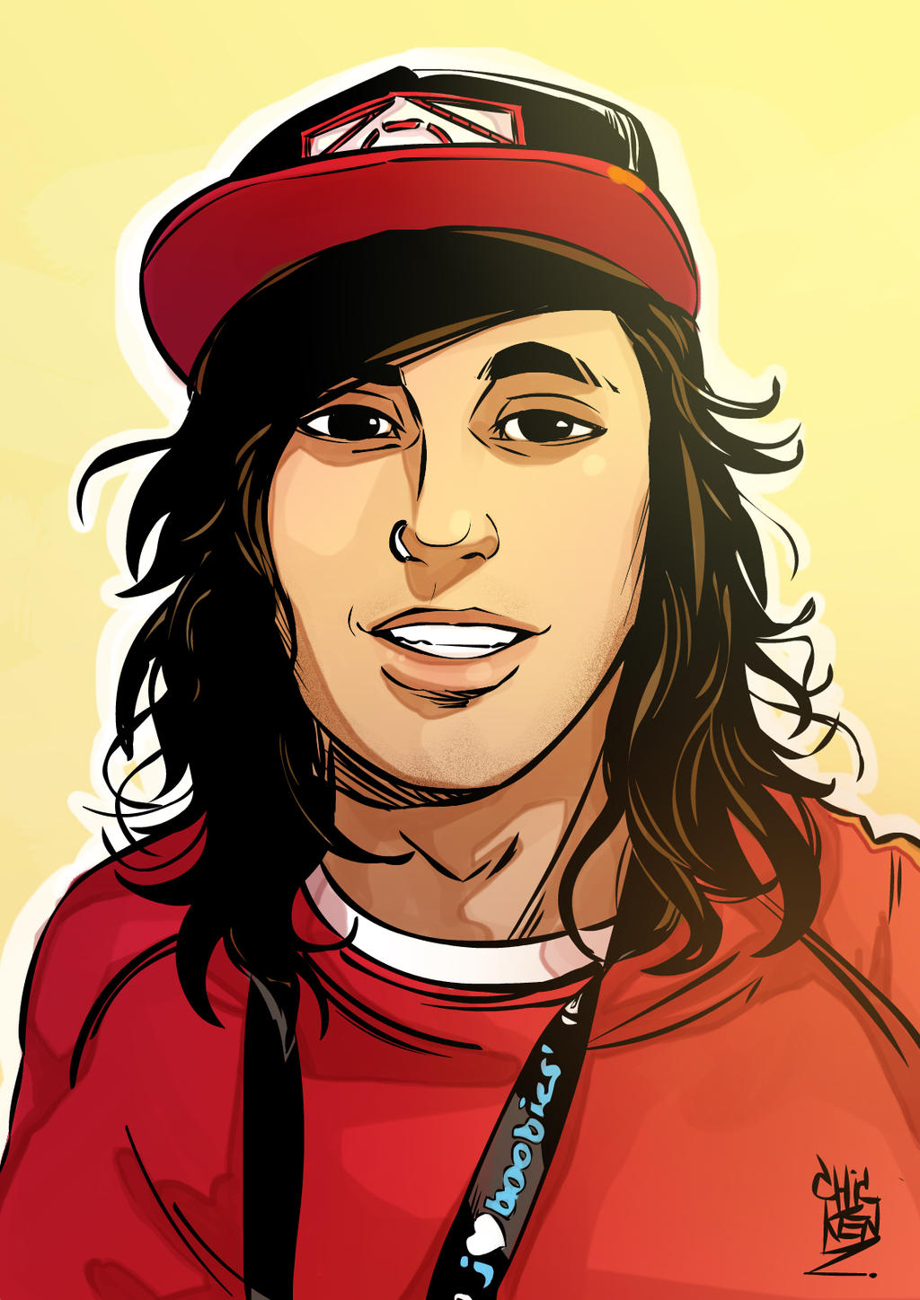 from Landon vic fuentes dating 2014