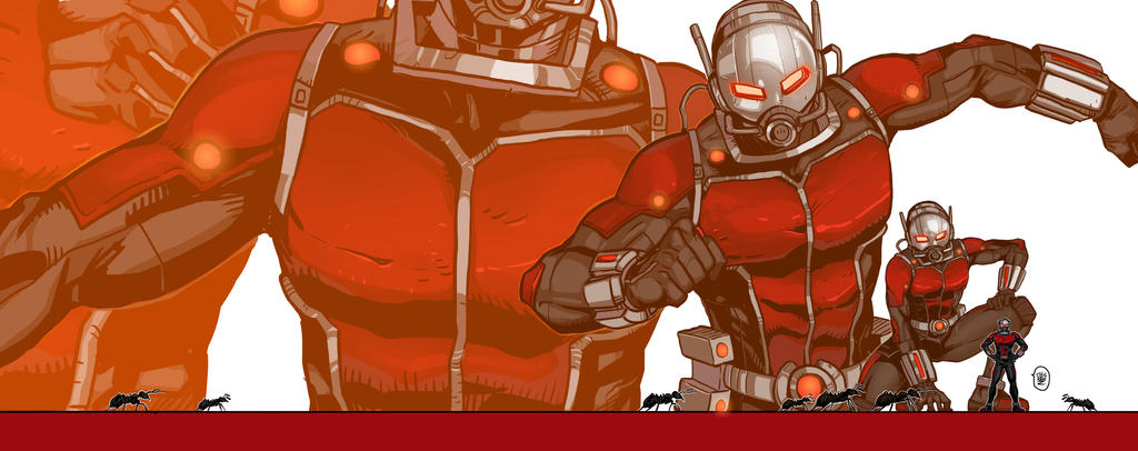 Antman! by ChickenzPunk