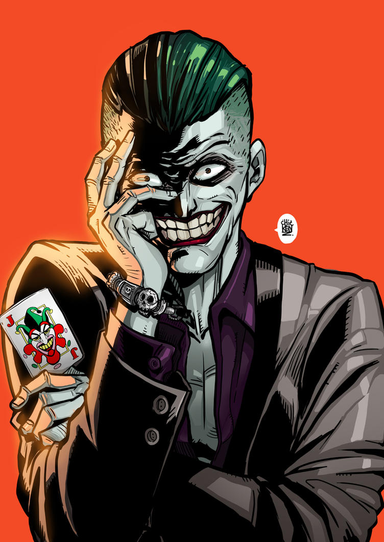 Joker by ChickenzPunk