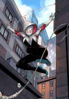 Spider-Gwen by ChickenzPunk
