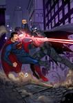 Son of Krypton vs Bat of Gotham!