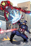 Captain America Vs Ironman