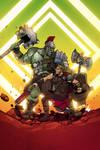 Hulk vs Thor!!