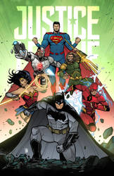 Justice League! by ChickenzPunk