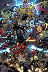 Avengers: Infinity War! by ChickenzPunk