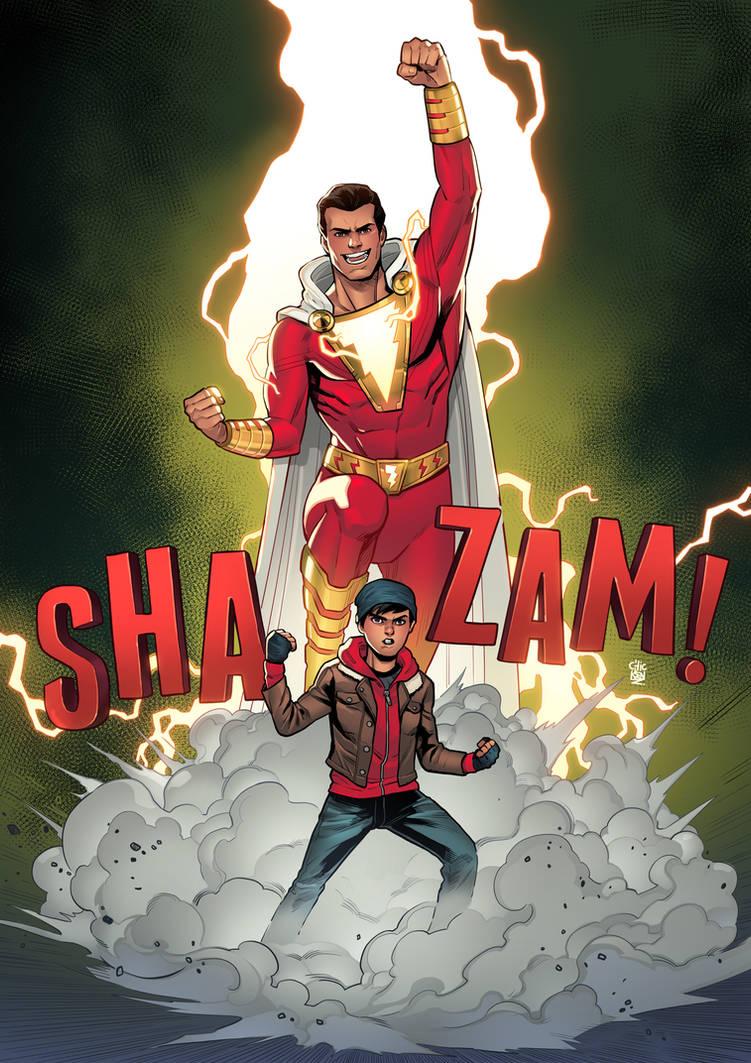 Shazam! by ChickenzPunk
