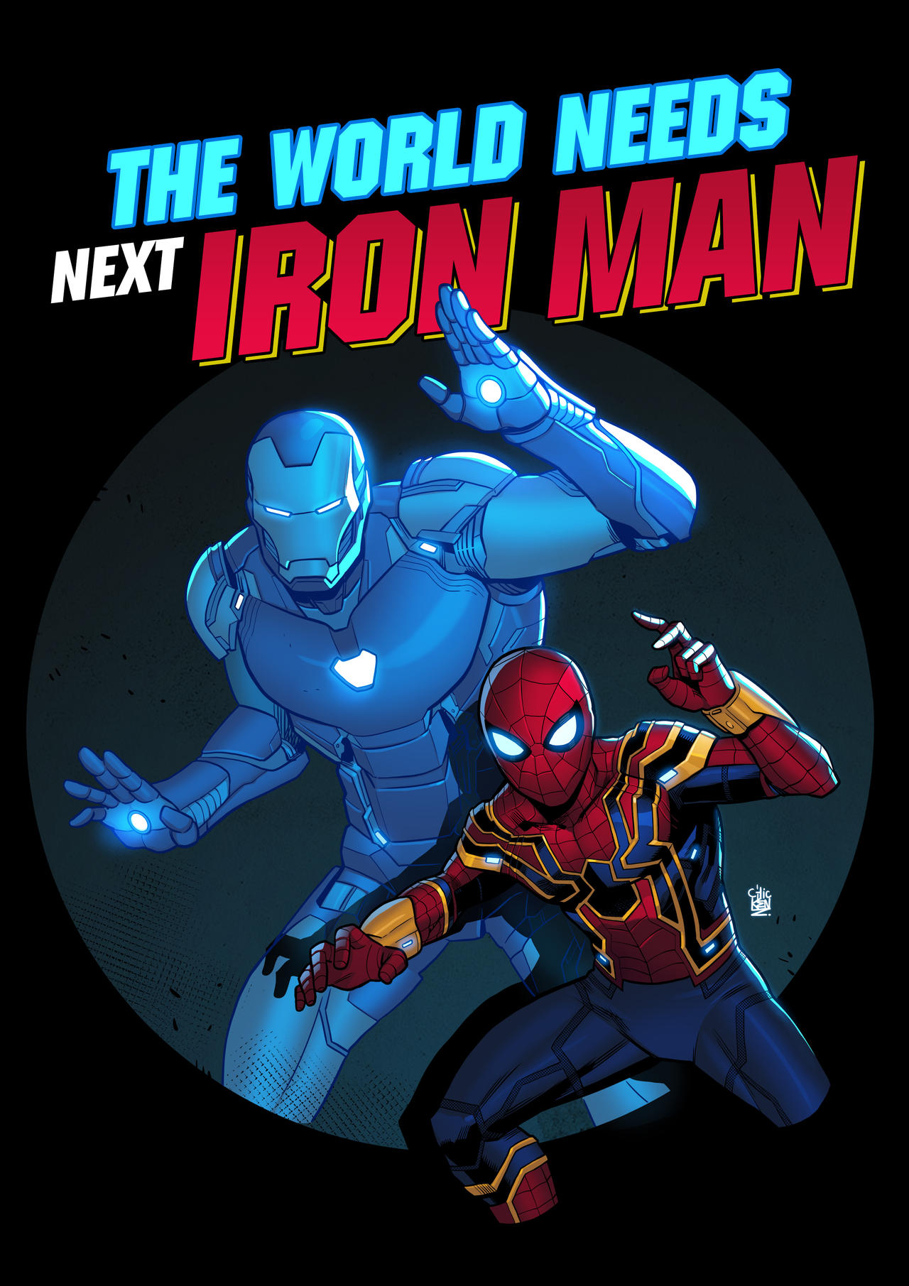 The World Needs Next Iron man