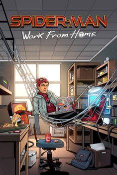 Spider-man : Work From Home