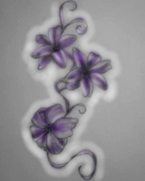 hyacinth tattoo design colour by francescamiller on deviantart. Black Bedroom Furniture Sets. Home Design Ideas