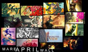 April TAG WALL by MareRocks