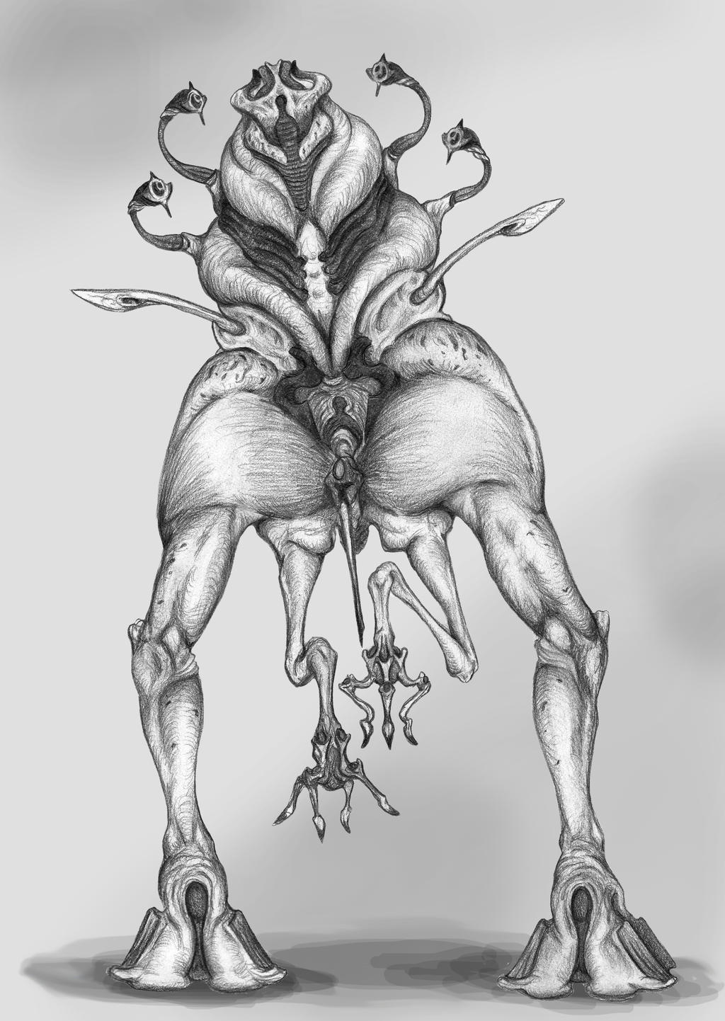 Alien Species - Dravavi by EvilSaintGood