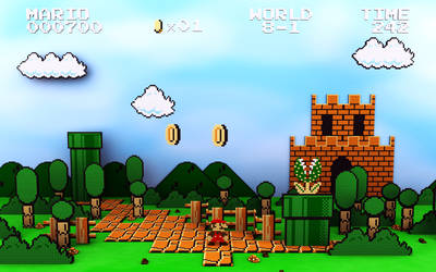 Mario Level by CodFather