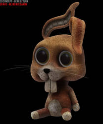 Rabbit Toy Left by CodFather