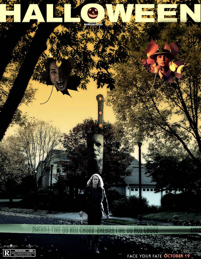 Halloween (2018 Poster) by MXPosedX on DeviantArt