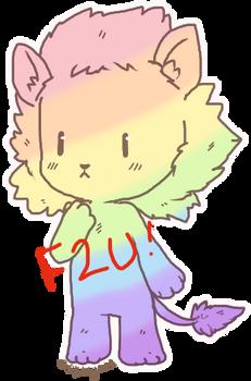 Cute lion adopt base [F2U]