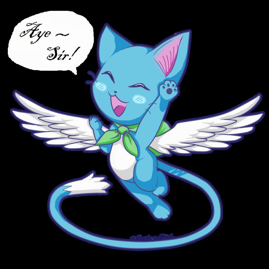 Happy: Fairy tail by KyubeyGirl on DeviantArt  Happy