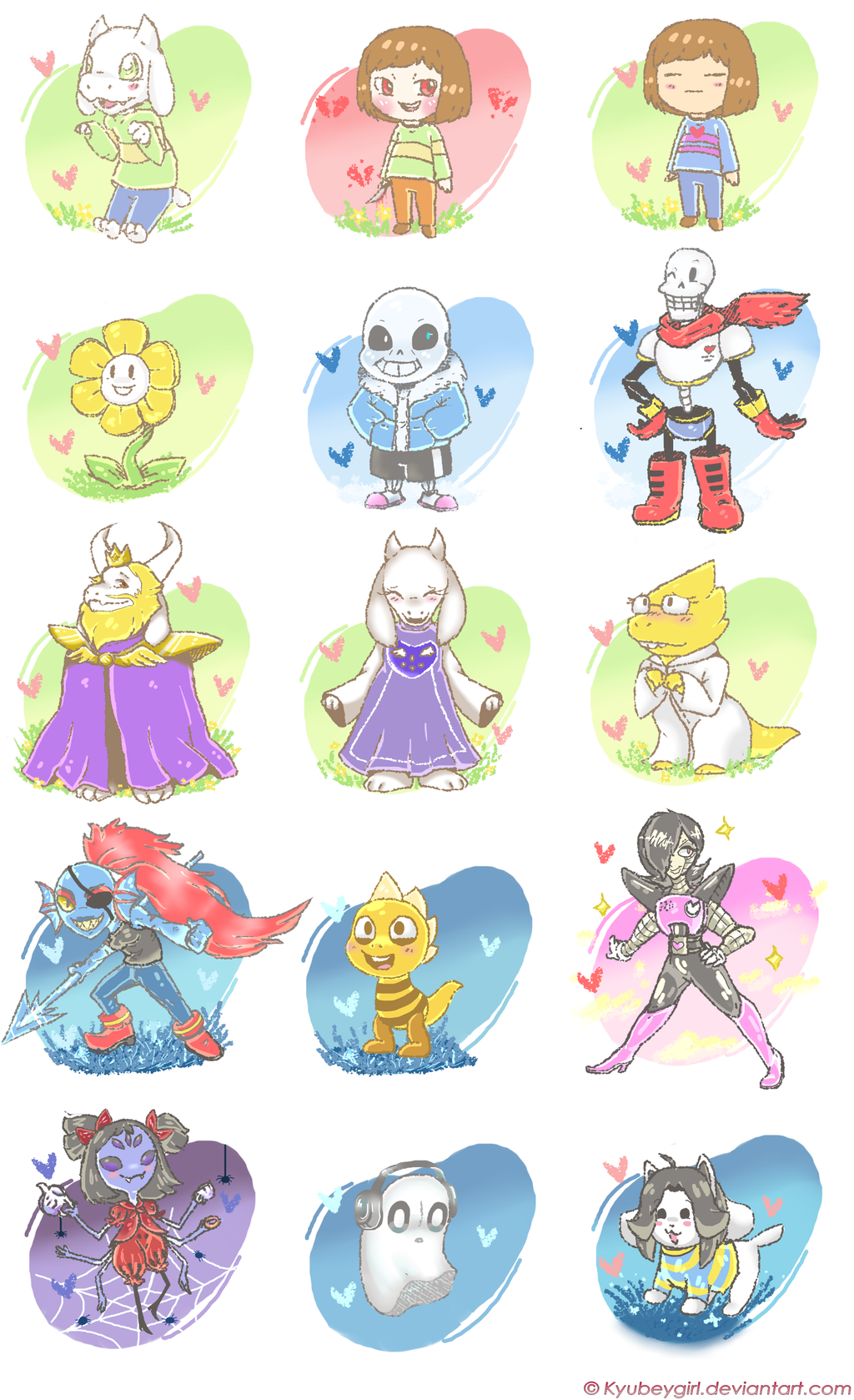 undertale_characters_wallpaper_by_kyubey