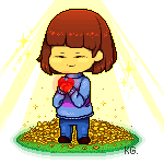 Child of Peace[Frisk undertale] F2U Pagedoll by KyubeyGirl
