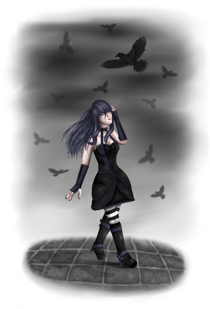 Beneath Black Skies by CadaverousCreature