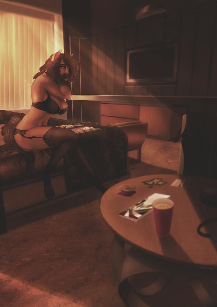Full Color Commission - Sophie-D by Jinkah