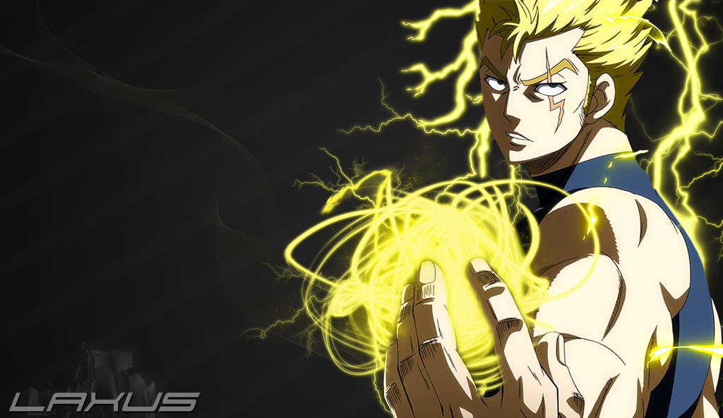 Laxus-FairyTail #8 by BMGoomes on DeviantArt