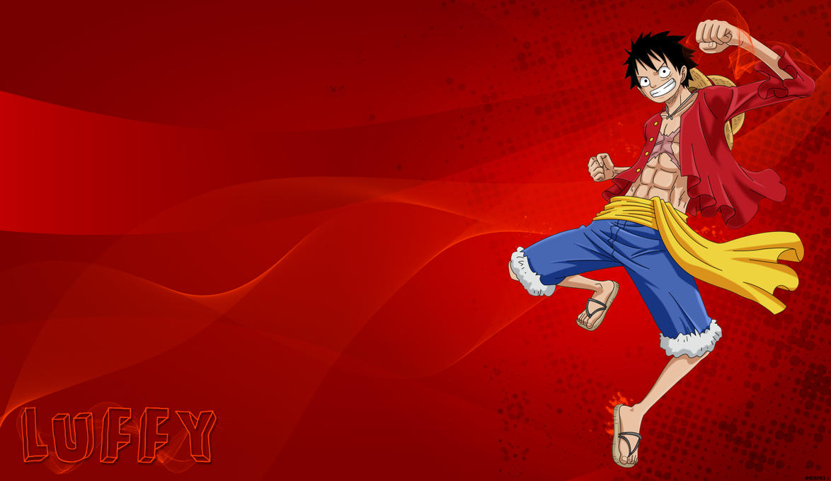 Luffy - One Piece #1 by BMGoomes on DeviantArt