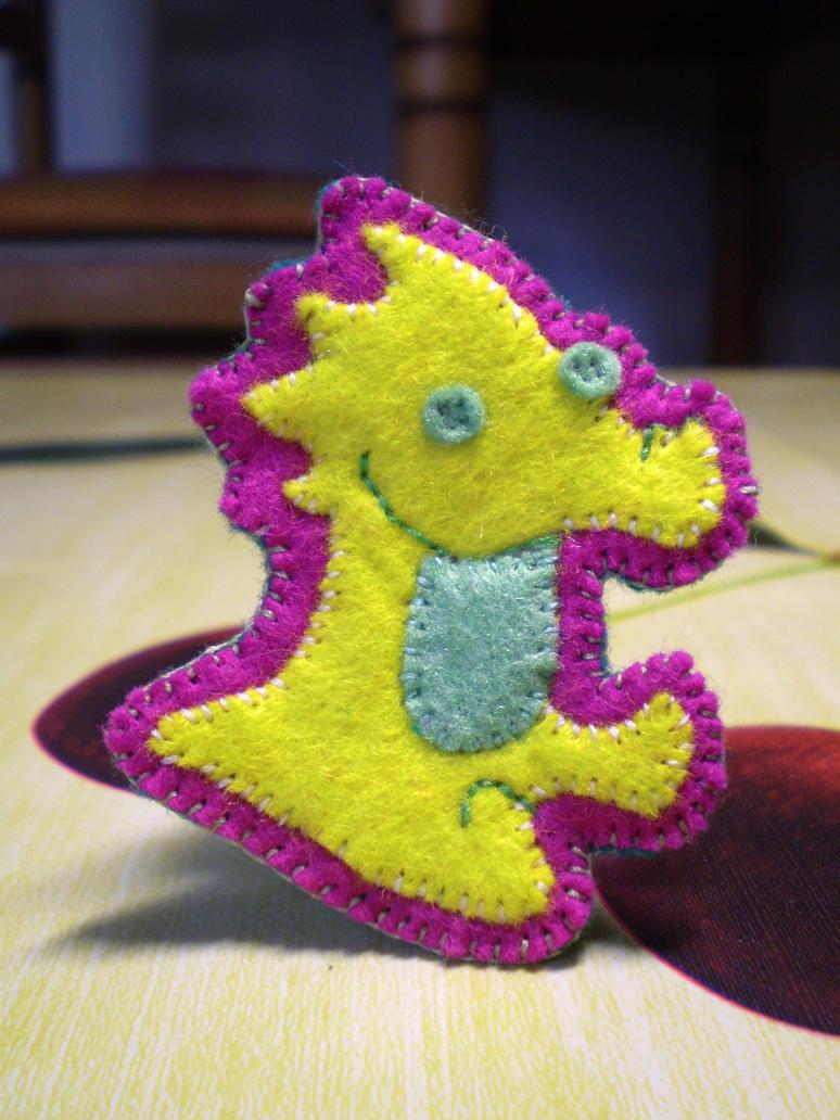 Lemon Snout brooch, Homestuck by JoshikoseiSnak