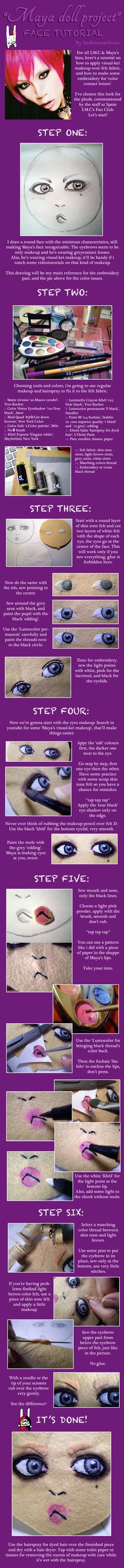 Maya LMC plush tutorial 1 by JoshikoseiSnak