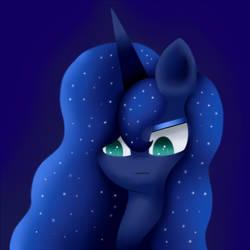 Annoyed Luna