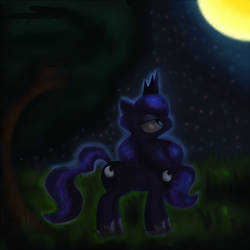 Princess Luna by King-Sombrero