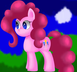 Pinkie Pie by King-Sombrero